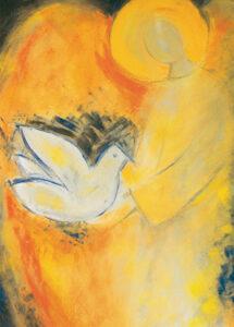 Kunstkarte – Engel des Friedens