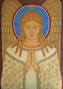 Kunstkarte – Betender Engel