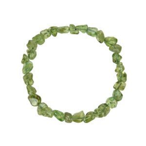 Armband, Chrysolith, 05 – 07 mm Nuggets